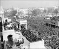 JFK Inaugural crowd