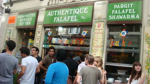 Authentic falafel