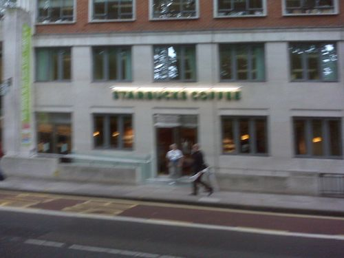 Starbucks Tavistock sq