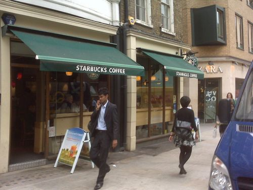 Starbucks Longacre