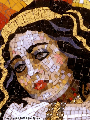 Queen-esther-mosaic-portrait-lilian-broca