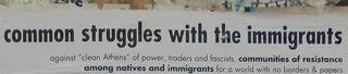 Immigrant solidarity English onlt